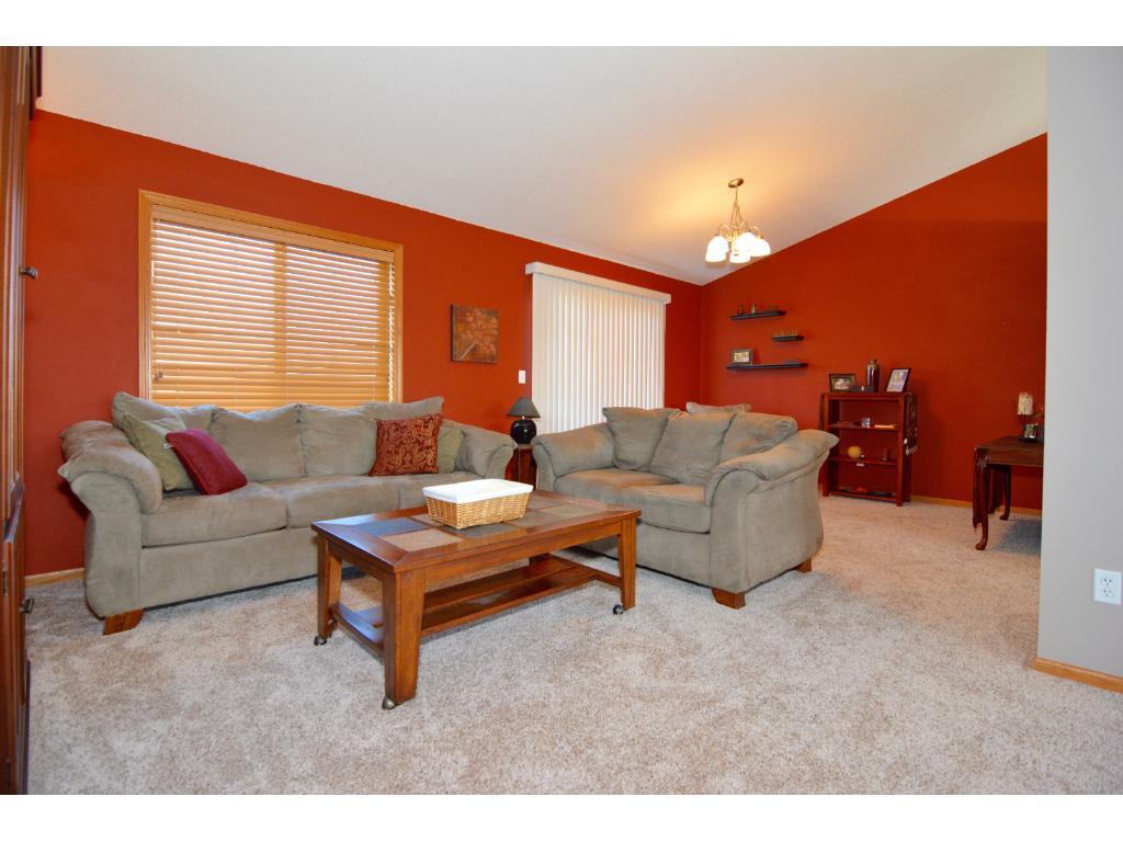 Upper level living room area.