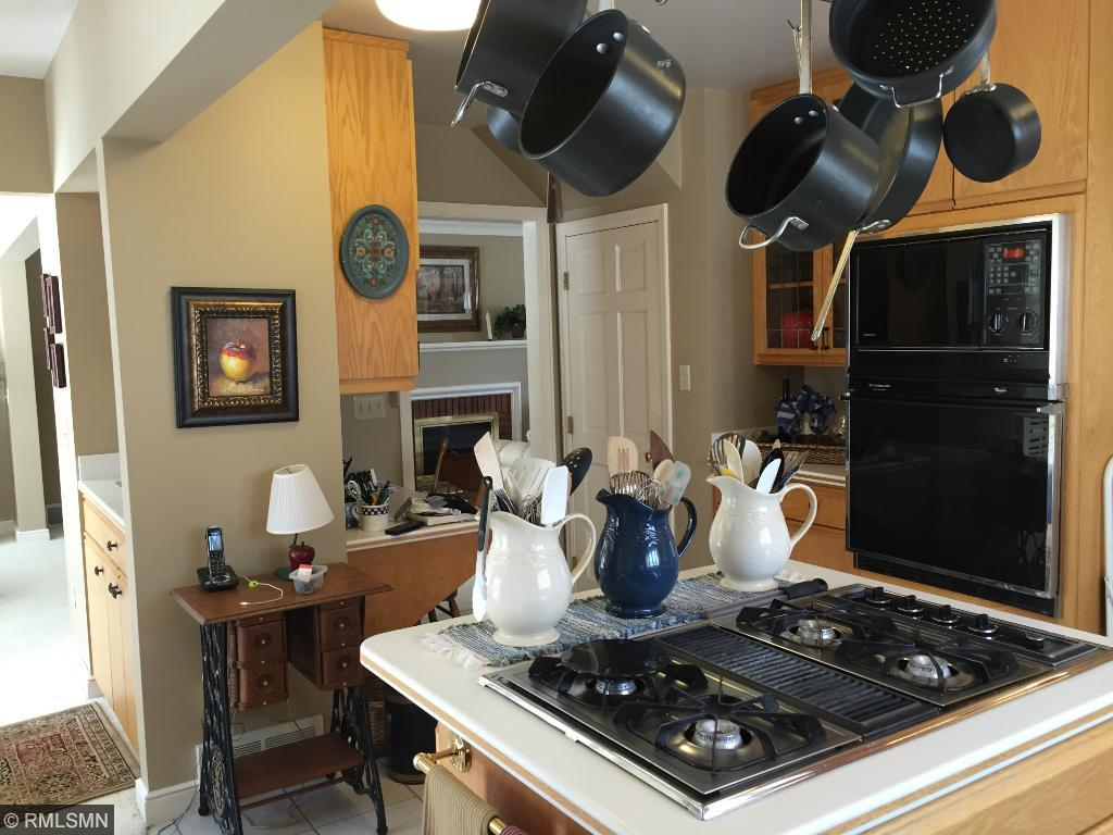 Custom kitchen which is perfect for all types of chefs.