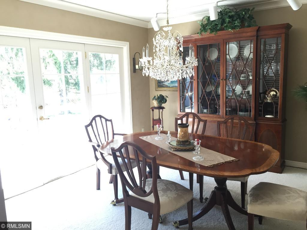 Formal Dining Room with easy access to huge deck