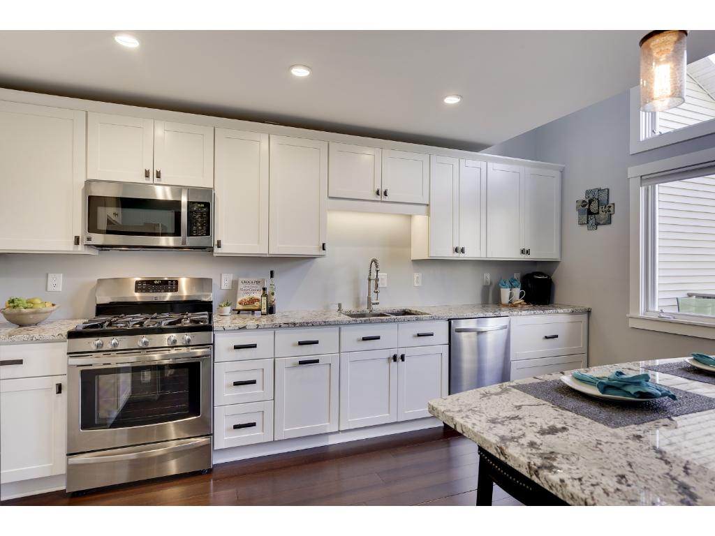 All New Cabinets, Stainless Steel Appliances, High End Granite,