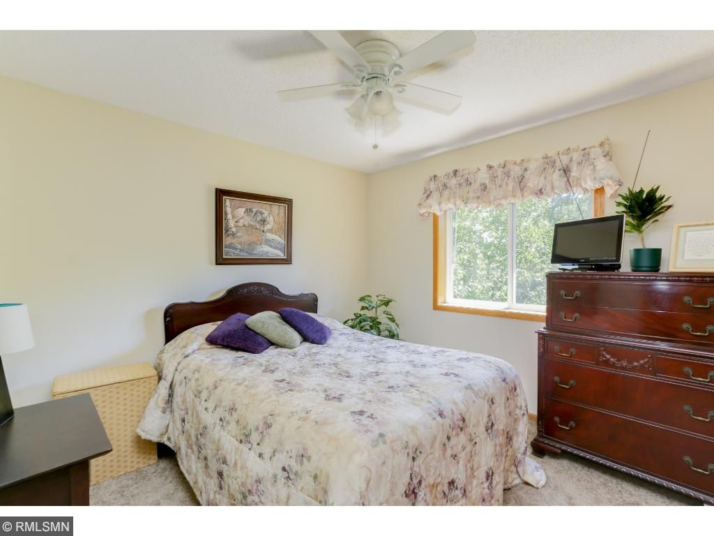 Mature trees out the third bedroom's window help to bring a sense of nature indoors!