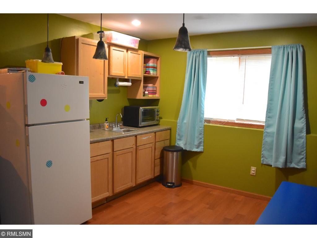 Lower level mini kitchen area