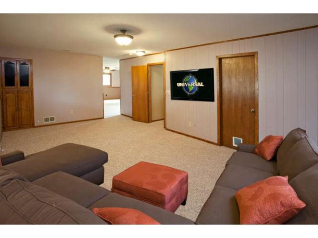 A Large Family Room is located in the Lower Level, perfect for entertaining friends and family
