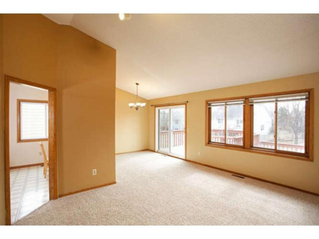 Spacious open floor plan with 3 bedrooms on one level