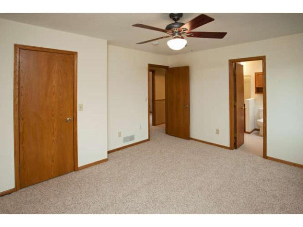 Relaxing master features a spacious walk-in Closet and a walk-through Full Bath