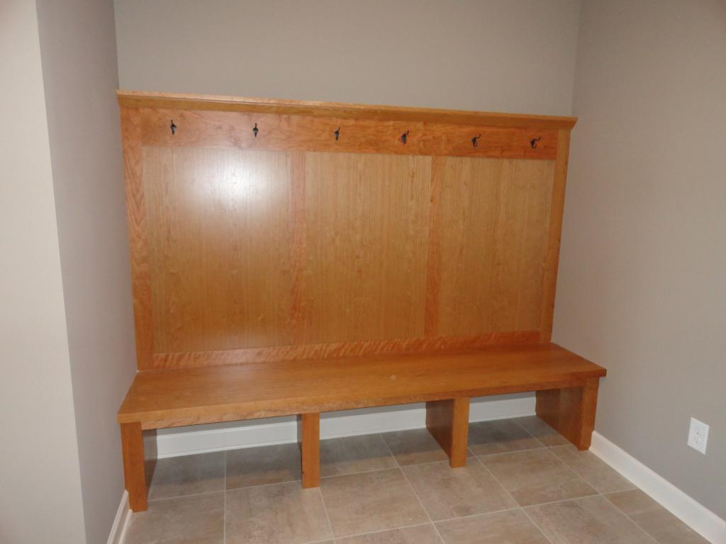Mud Room built in boot bench photo from a similar home