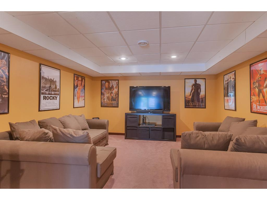 The theater room!