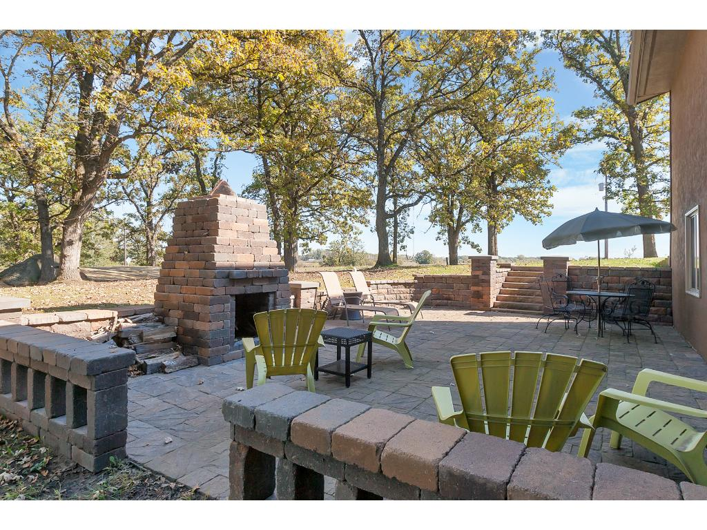 Relax in one of two patio areas and enjoy a fire with friends!