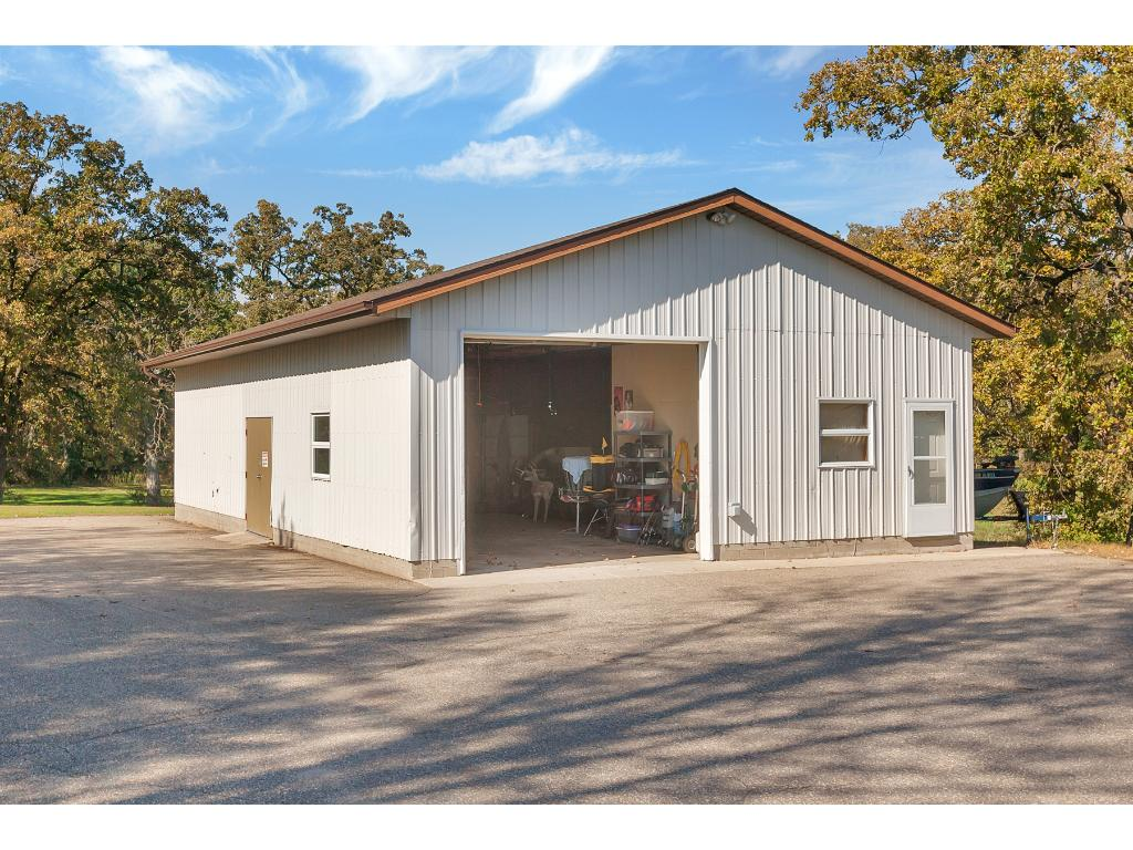 Garage envy! Radiant heat, office/ storage area, 10 ft overhead door and more! Plenty of room for all your toys!