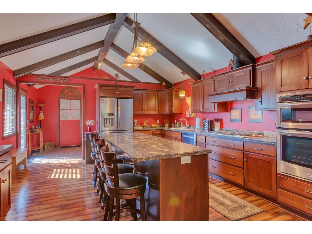 This dream kitchen was totally remodeled recently!