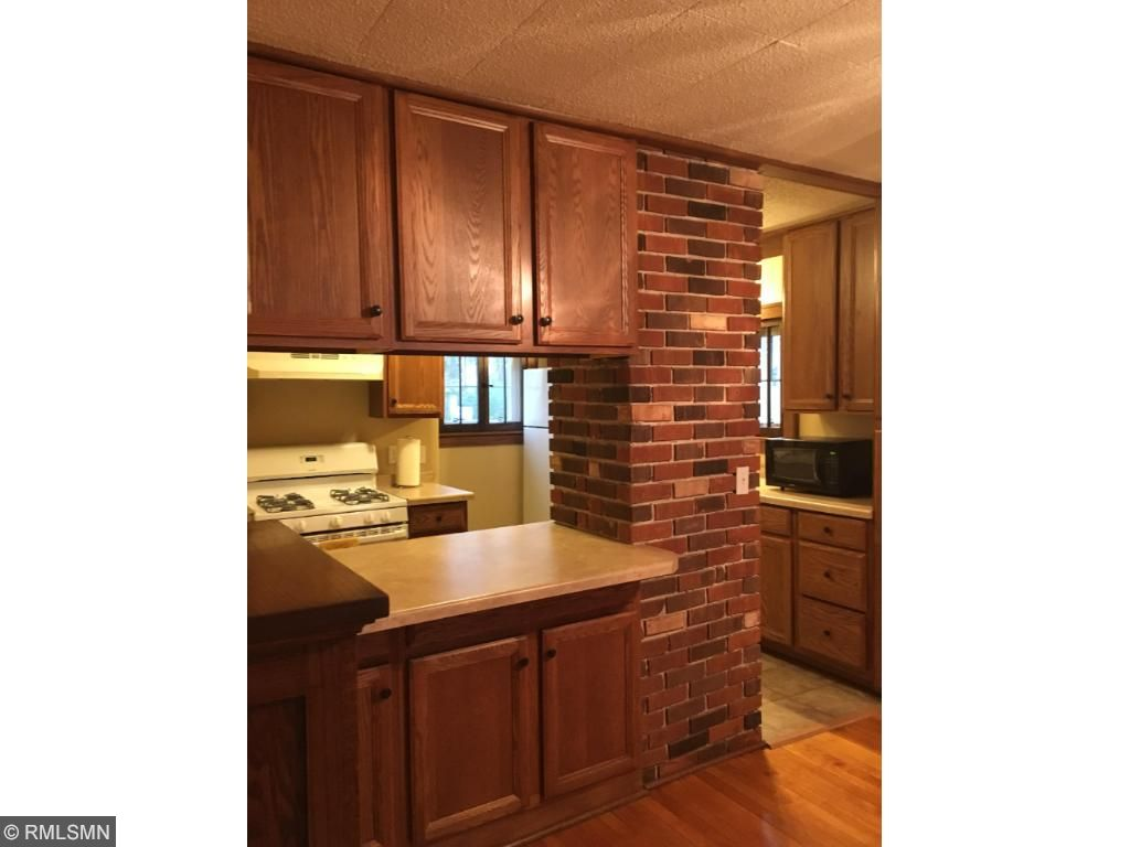Original Brick in Kitchen