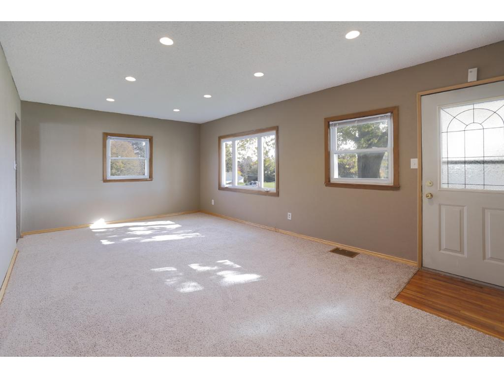 Brand new carpet throughout the main level. Large living room space with tons of natural light.