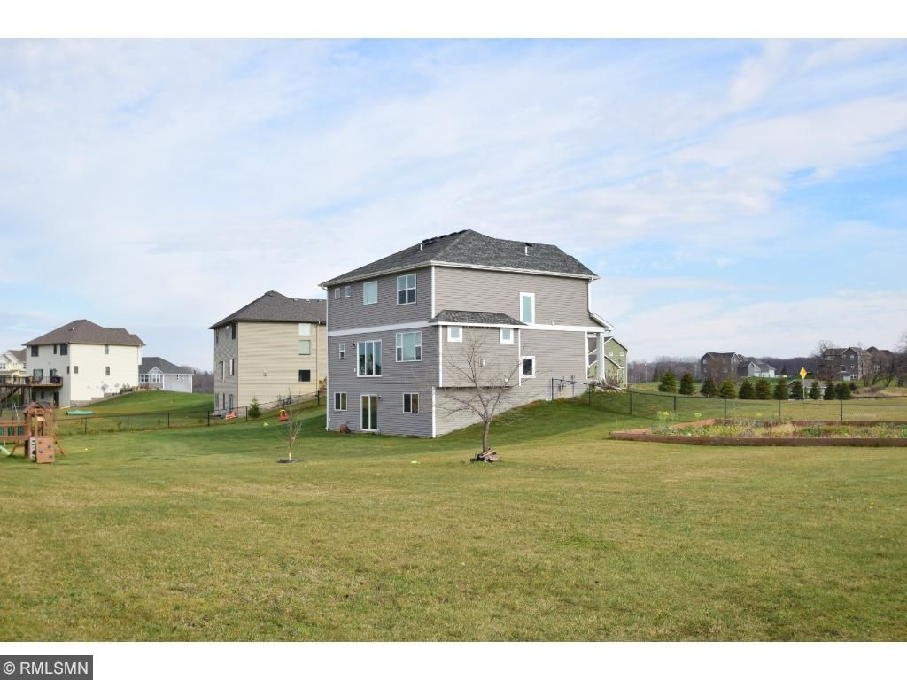 Oversized .88 acre corner lot perfect for kiddos and pets to run and play!