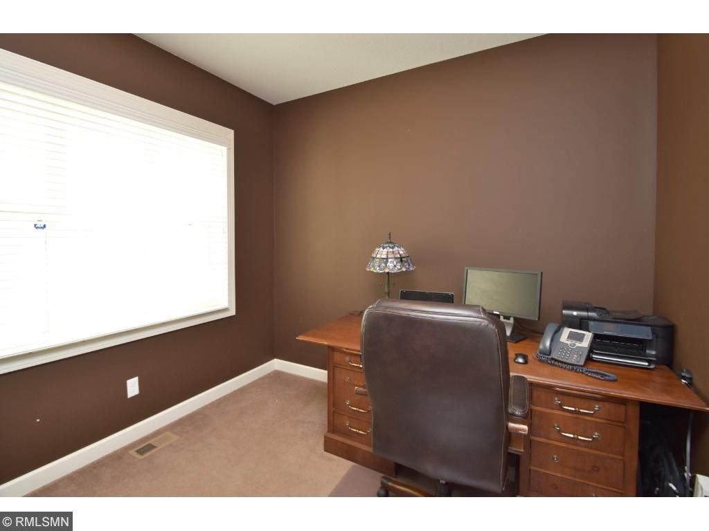 Main level study is so convenient for a home office, playroom or however you wish to utilize this space.