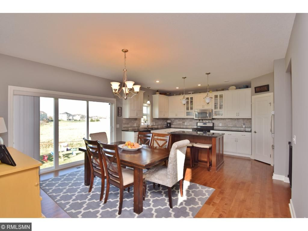 Open floor plan makes for great gatherings.