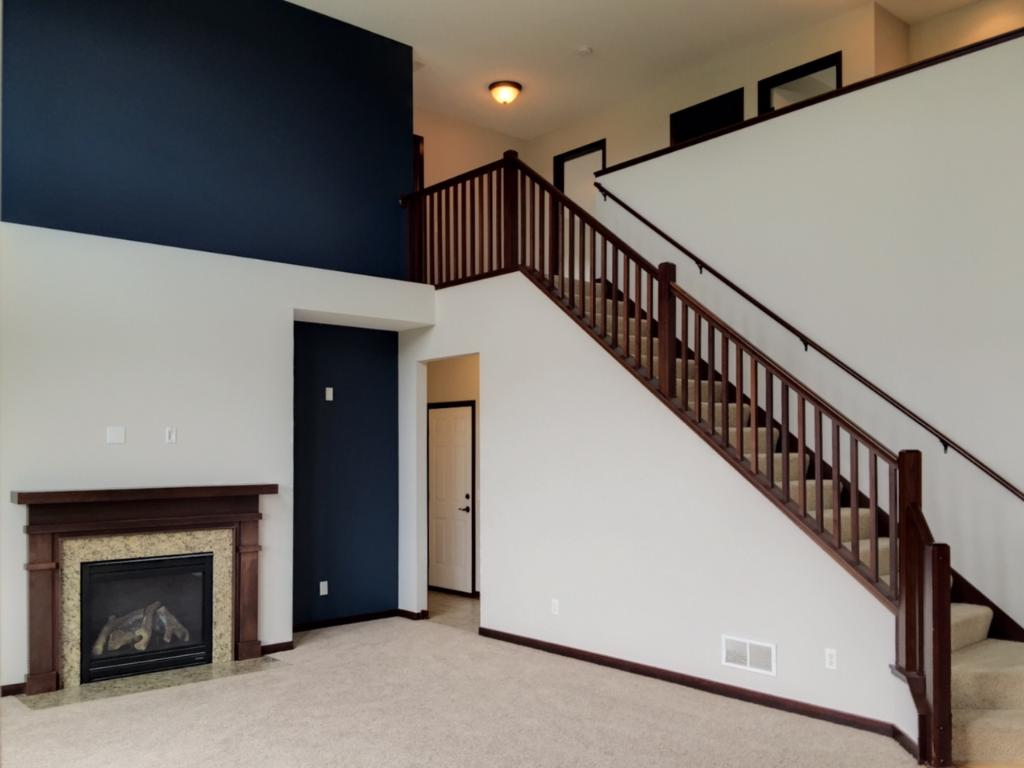 Truly open living space.
