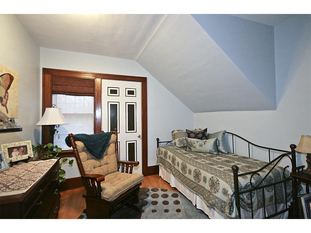 2nd bedroom with Maple hardwood floors on upper level.