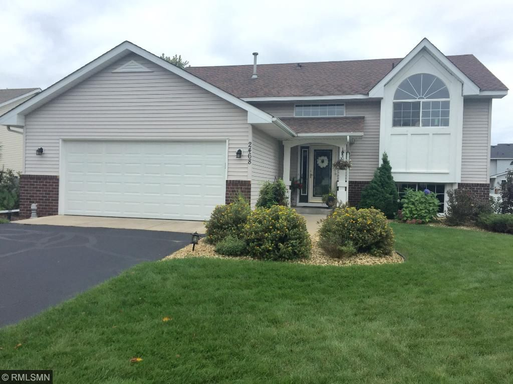 Great curb appeal, new over head garage door, just sealed driveway, in ground sprinkler system...