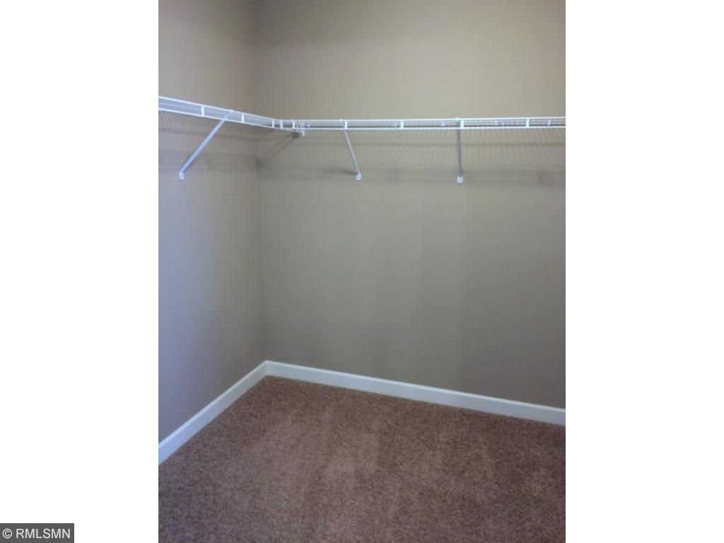 Big walk-in closet in the master. Closet entry is from inside the bathroom. Super convenient.