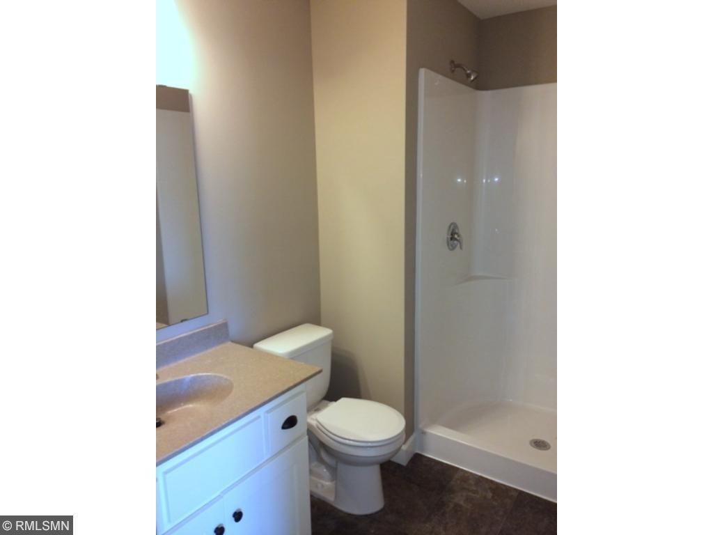 LL bathroom, with shower.