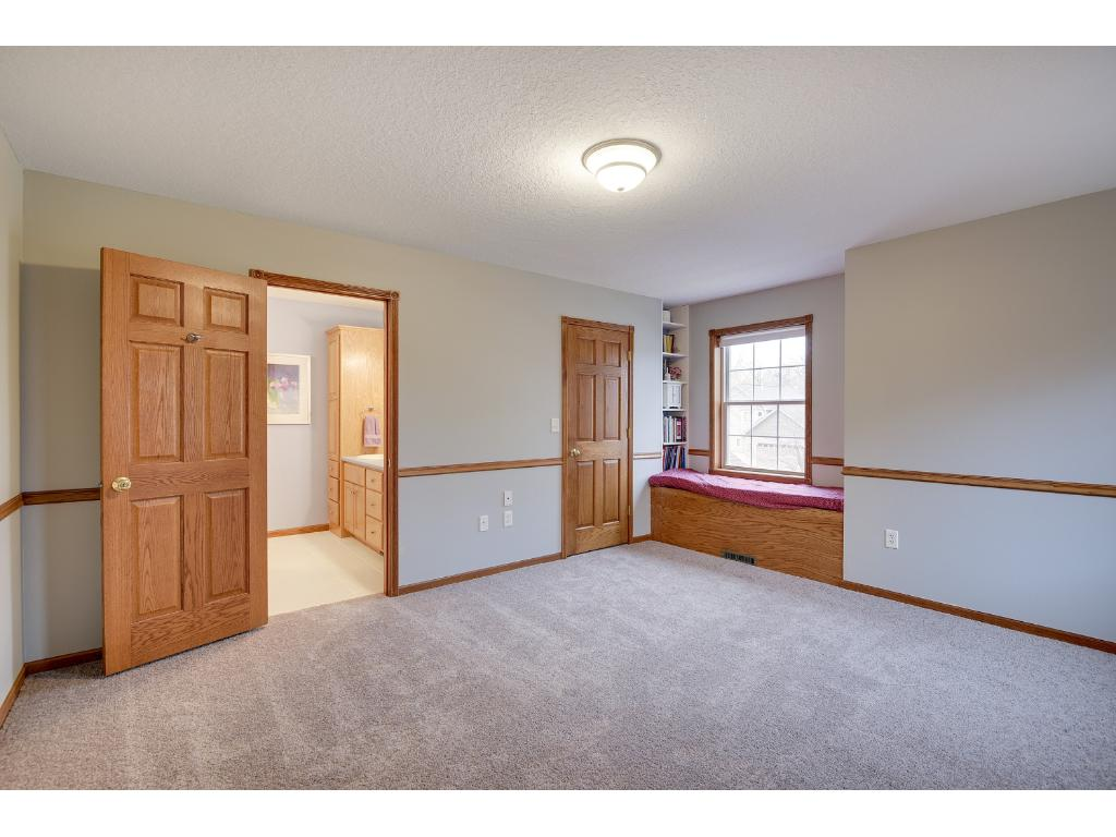 Lovely Master Bedroom with a Large Walk In Closet  and Private Bath.