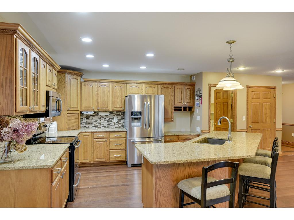 Recently Remodeled Kitchen with Tons of Space for everyone!