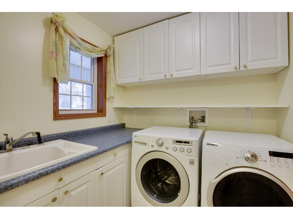 Main Level Laundry with Lots of Cabinets :-)