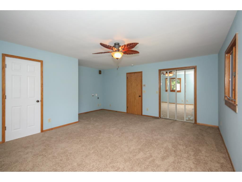 Huge master suite addition!  Includes walk in closet, 2nd closet, washer/dryer hookup, private full bath, new carpet and paint