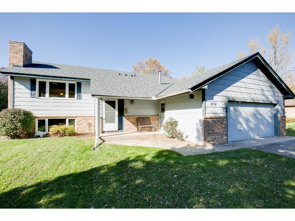 Incredible family home with newer roof.  This home is located in a quiet mature neighborhood.  It is just minutes to downtown White Bear Lake.