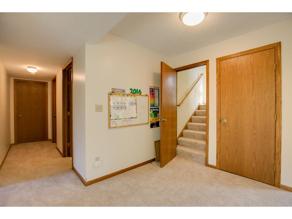 You can close off the basement for additional privacy.