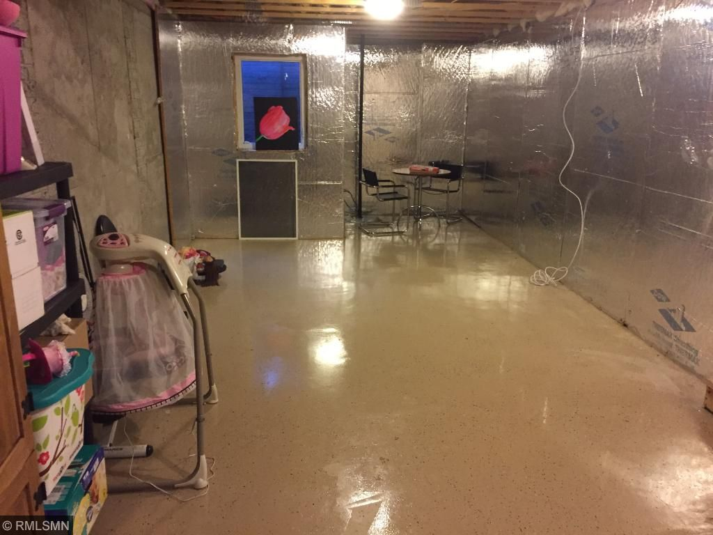 Build instant equality by finishing this basement.  Large enough for a third bedroom, Living room and another bathroom.