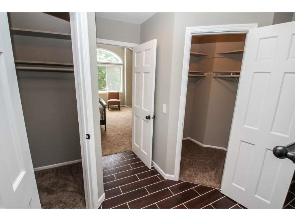 Dual closets in Master