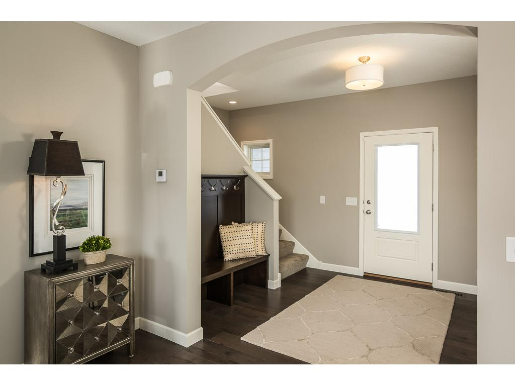 Entry (NOTE: this photo was taken of another home with comparable finishes).