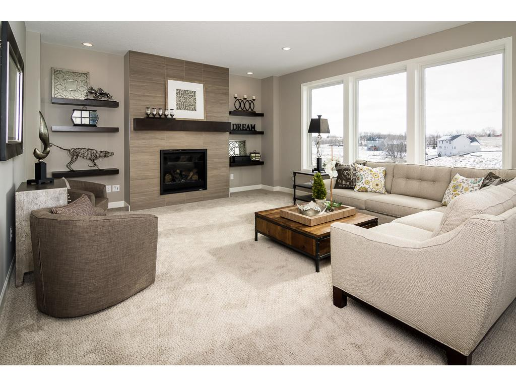 Living Room (NOTE: this photo was taken of another home with comparable finishes).