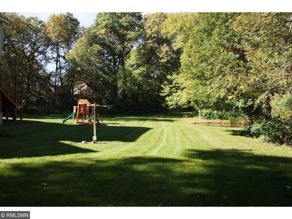Gorgeous wooded lot with huge yard.