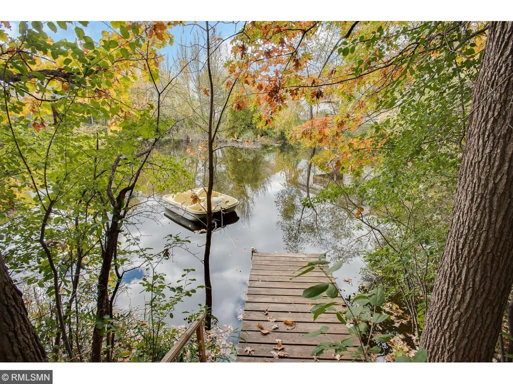 Close to nature on your own private dock on a secluded pond right in your own backyard.