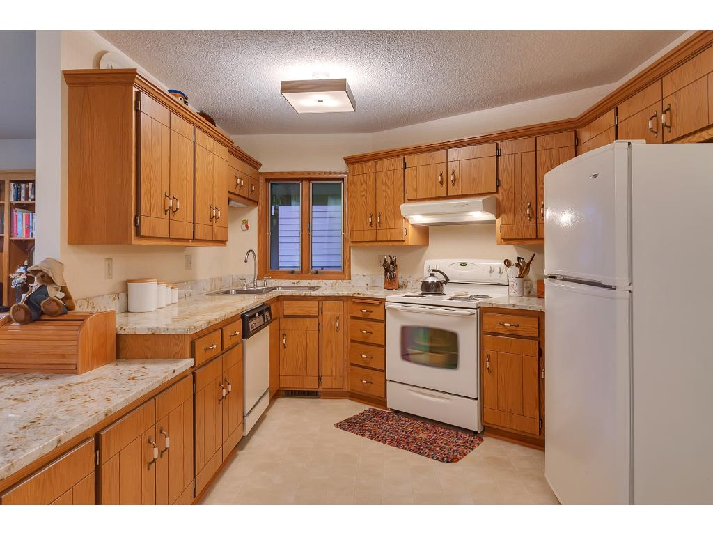 Kitchen is Open to Breakfast Are and Family Room