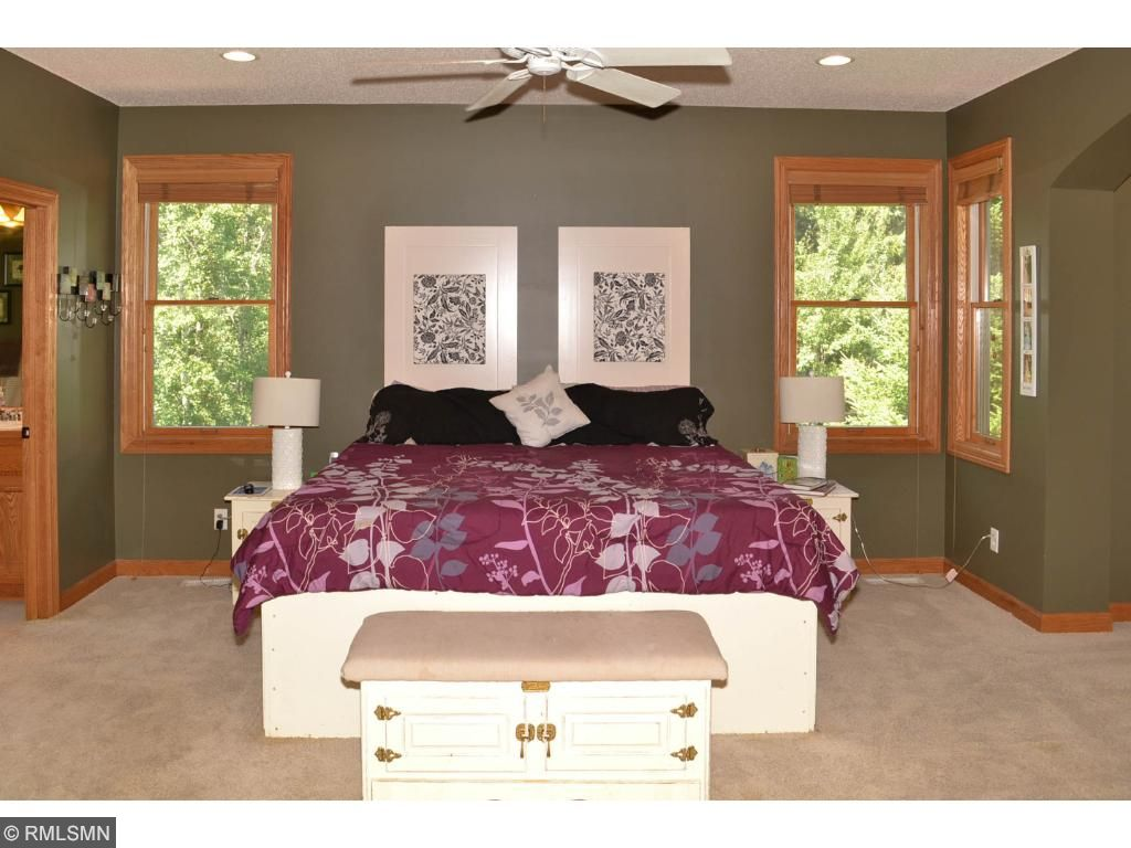 Absolutely huge master bedroom on the main floor.