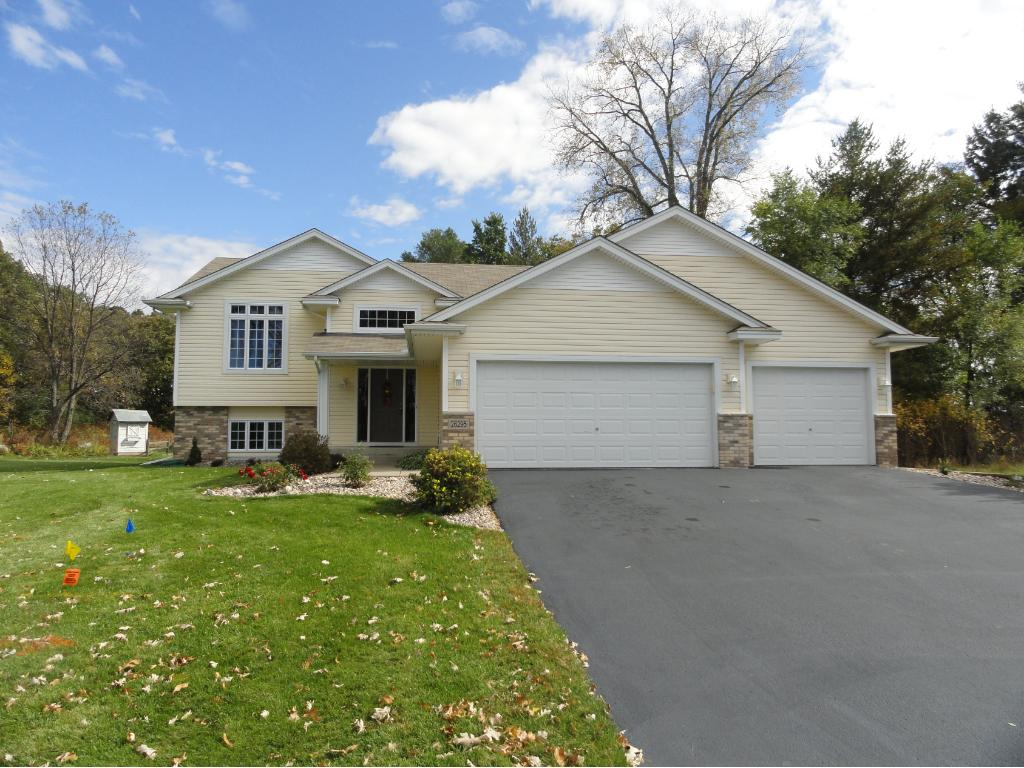 This home is so clean and fresh that it looks like new construction!  Driveway has been seal coated.  Landscaping has been recently updated.