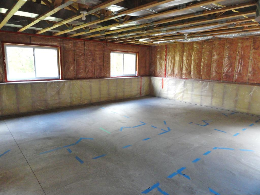 Unfinished portion of basement has lots of room for expansion.  There is room for 2 bedrooms, bathroom and laundry room or your own plan.  There is a lot of potential here for additional finished square footage or storage space.