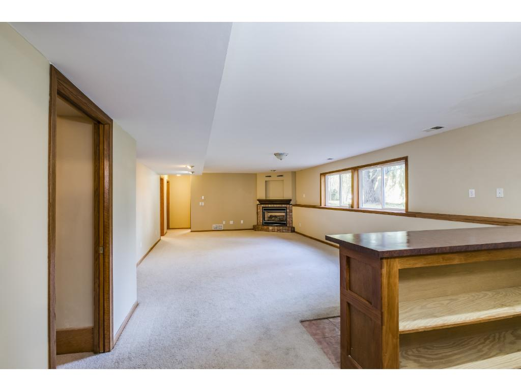 Open floorplans continues downstairs!
