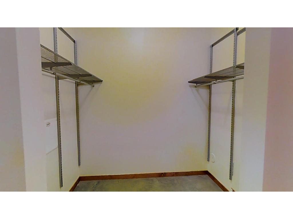 Huge walk in closet--there's also a large storage closet in the unit, as well as a private storage room in the hallway