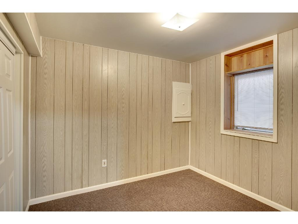 Newly added 4th bedroom in basement
