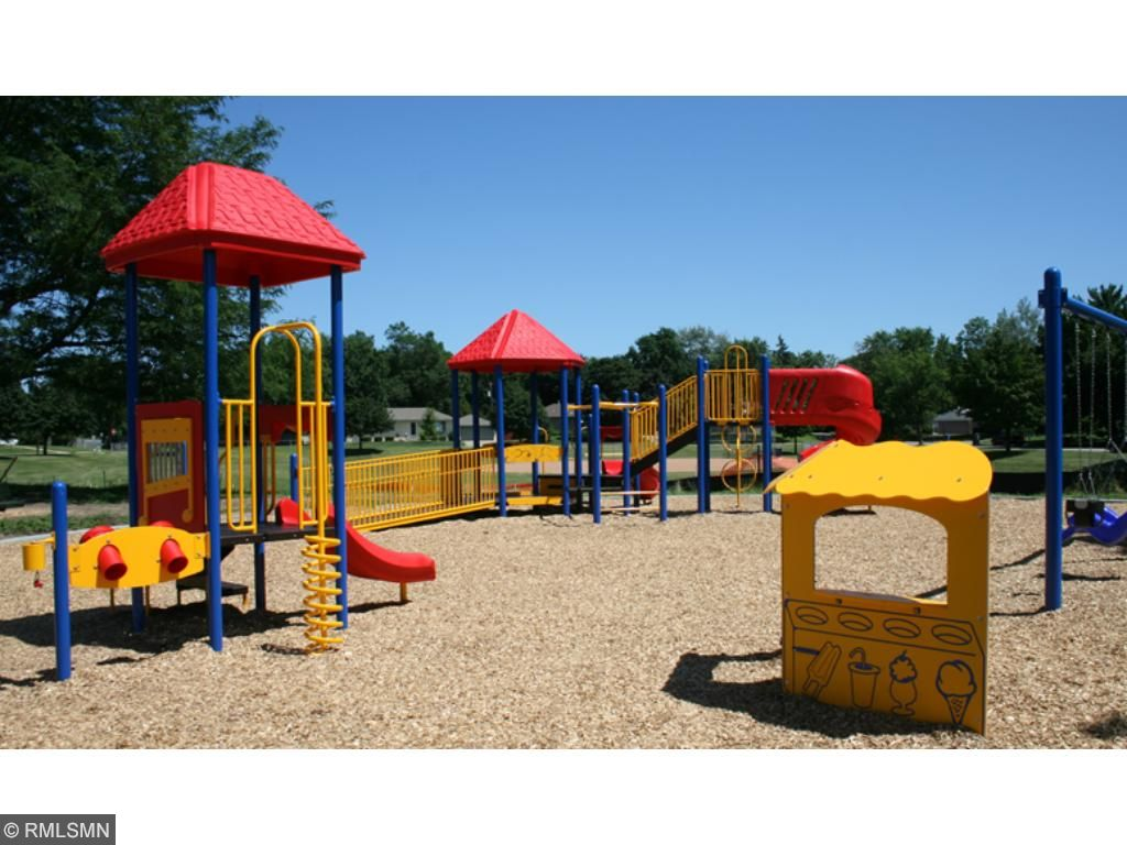 The close proximity of the playground makes enjoying the park amenities even easier. 26XX 5th St. E., Maplewood, MN.