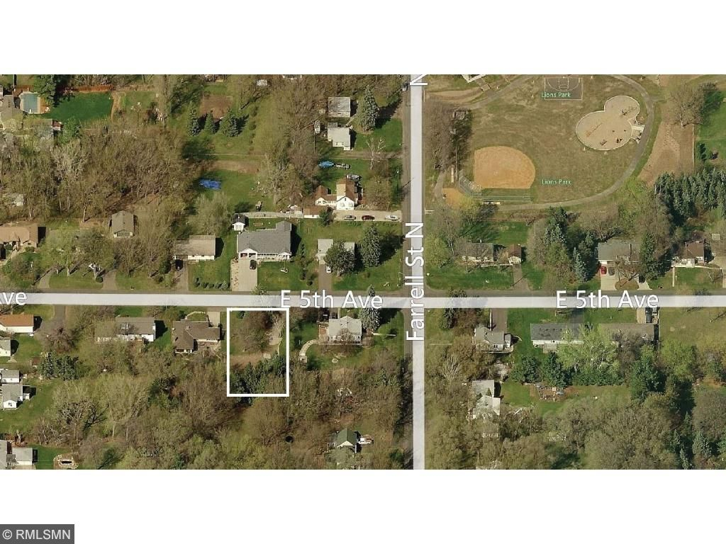 This 75' x 180' lot is located 3 homes from Lions Park! 26XX 5th St. E., Maplewood, MN.