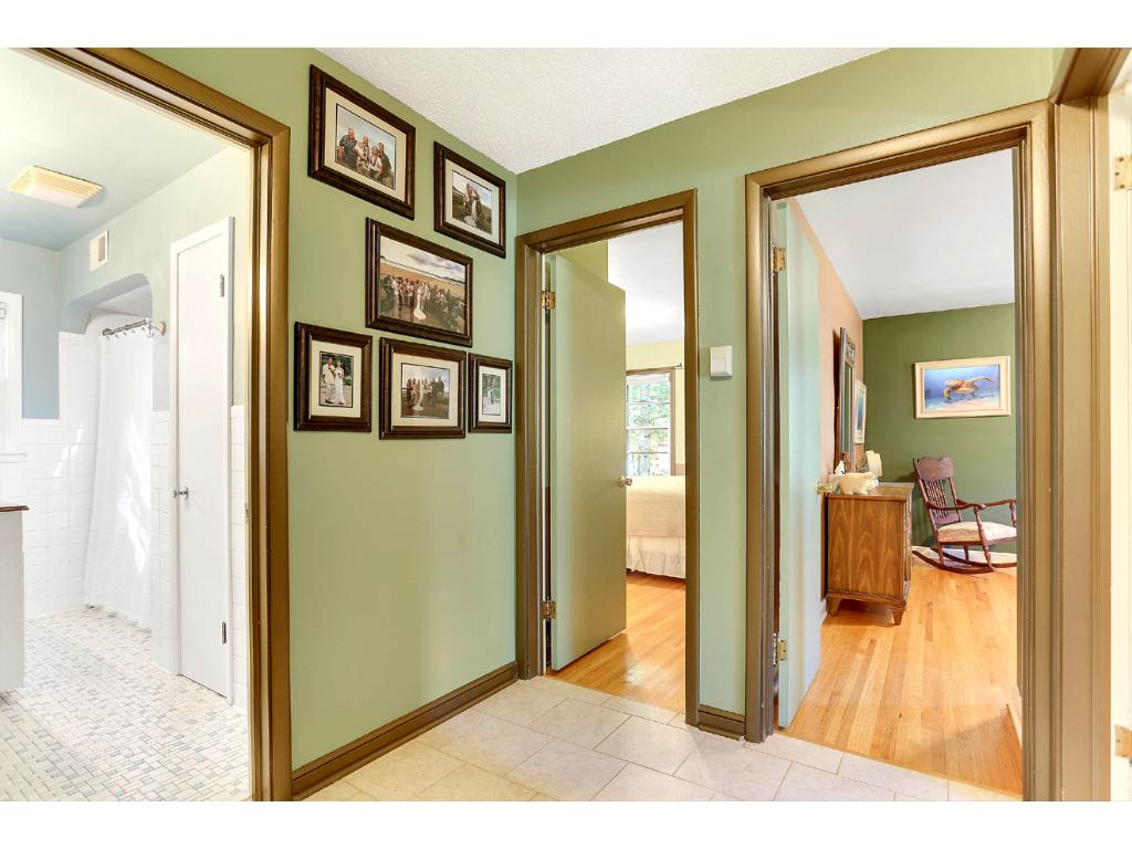 The Main Level Hallway provides quick access to the 3 Main Level Bedrooms and Full Bath!
