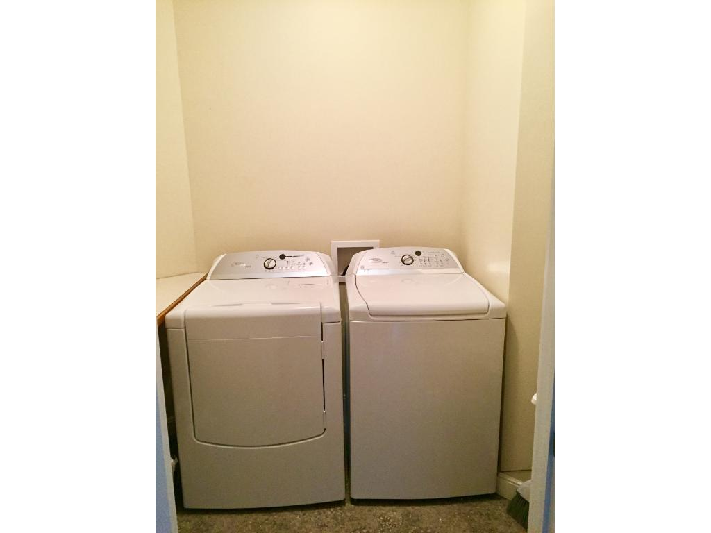 Main floor Laundry in perfect location