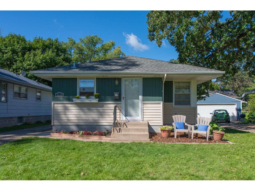 Welcome to this turnkey  property on a quiet street close to your choice of several parks.