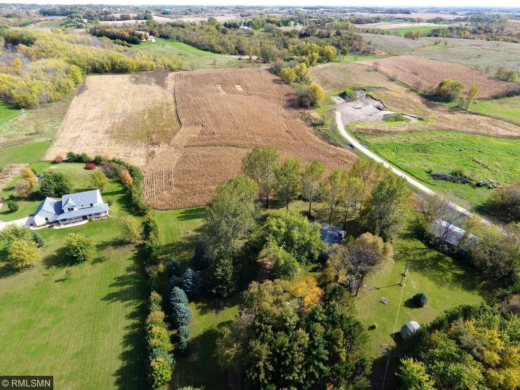 The field of about 6 - 7 acres is rented to a neighbor on a handshake.