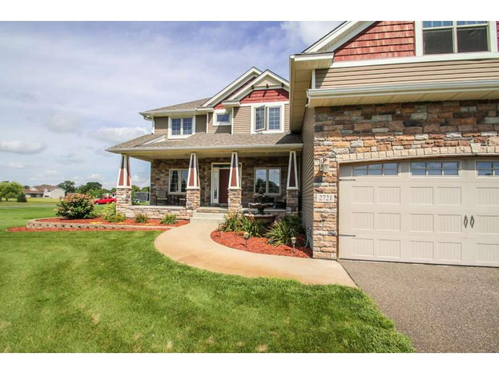 Gorgeous, spacious two story with huge bonus space over garage!